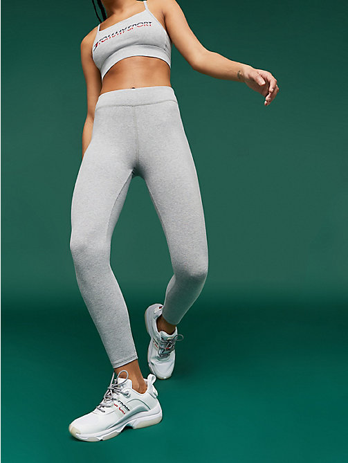 TOMMY SPORT Legging de compression 7/8 - GREY HEATHER - TOMMY SPORT Femmes - image principale