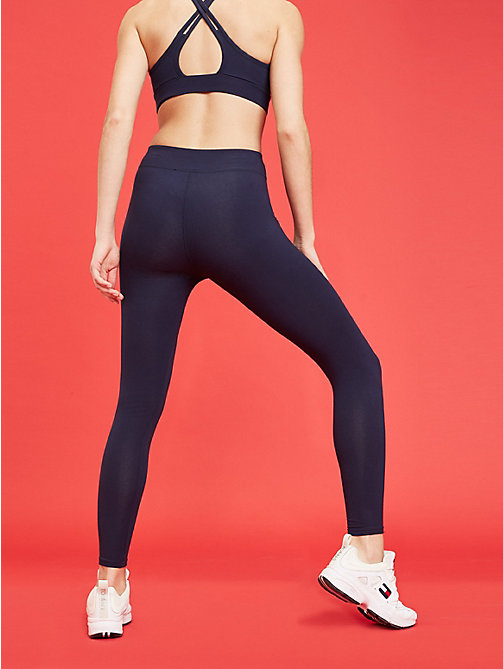 TOMMY SPORT 7/8 Length Compression Leggings - SPORT NAVY - TOMMY SPORT Women - detail image 1