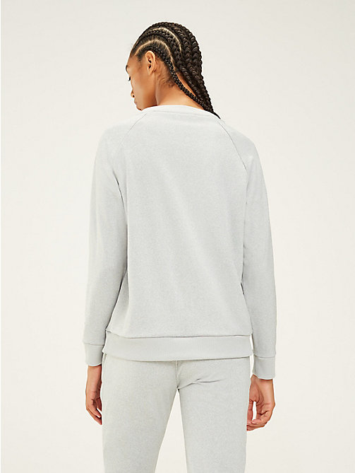 TOMMY SPORT Logo-Sweatshirt mit Rundhalsausschnitt - GREY HEATHER - TOMMY SPORT Damen - main image 1