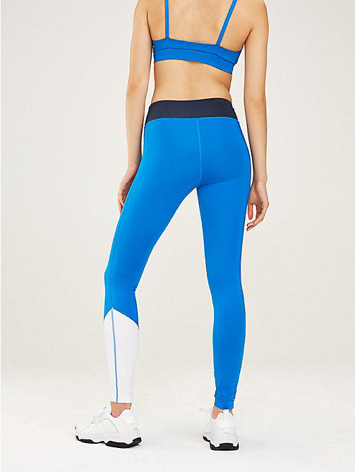 TOMMY SPORT Colour-blocked sportlegging - SPORT NAVY - TOMMY SPORT Dames - detail image 1