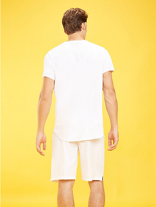 TOMMY SPORT T-shirt compact - PVH WHITE - TOMMY SPORT Hommes - image détaillée 1