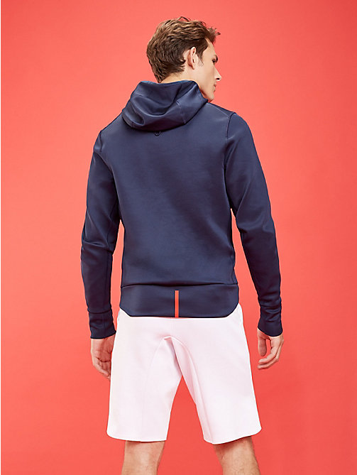 TOMMY SPORT Hoodie aus Stretch-Fleece - SPORT NAVY - TOMMY SPORT Herren - main image 1