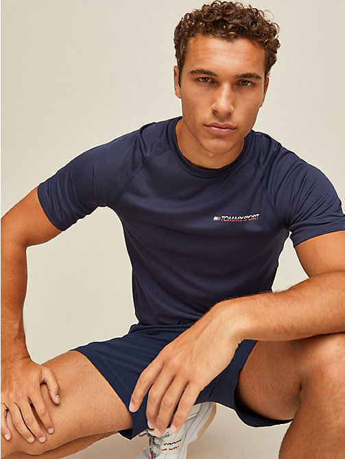 TOMMY SPORT T-shirt à logo - SPORT NAVY - TOMMY SPORT Hommes - image principale