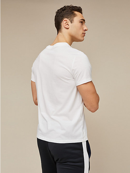 TOMMY SPORT Chest Logo T-Shirt - PVH WHITE - TOMMY SPORT Men - detail image 1