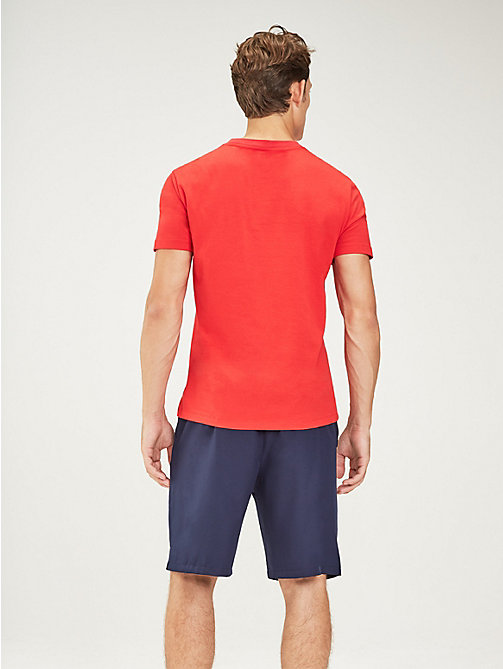 TOMMY SPORT Chest Logo T-Shirt - TRUE RED - TOMMY SPORT Men - detail image 1