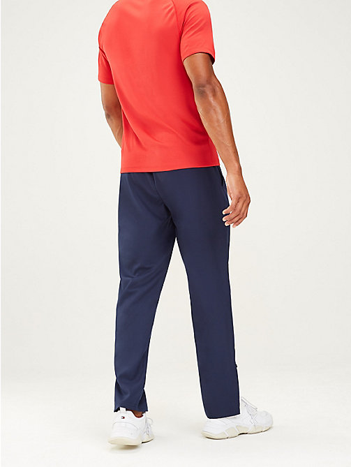 TOMMY SPORT Ankle Zip Joggers - SPORT NAVY - TOMMY SPORT Men - detail image 1