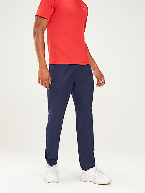 TOMMY SPORT Ankle Zip Joggers - SPORT NAVY - TOMMY SPORT Men - main image