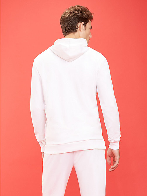 TOMMY SPORT Graphic Logo Hoody - PVH WHITE - TOMMY SPORT Men - detail image 1