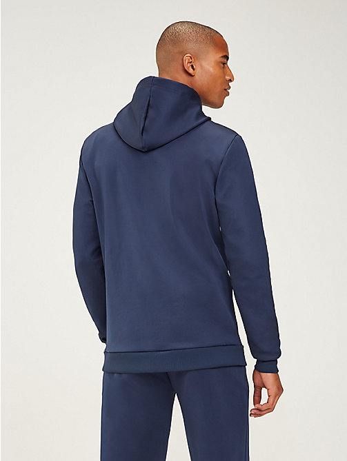 TOMMY SPORT Graphic Logo Hoody - SPORT NAVY - TOMMY SPORT Men - detail image 1