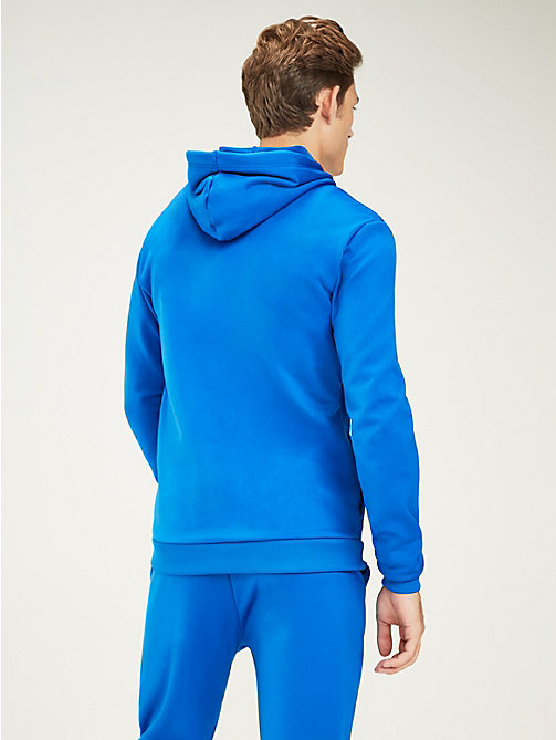 TOMMY SPORT Graphic Logo Hoody - PRINCESS BLUE - TOMMY SPORT Men - detail image 1