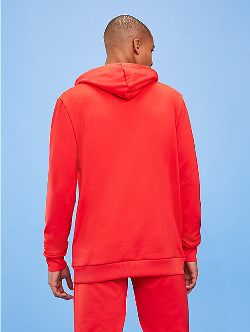 TOMMY SPORT Logo Hoody - TRUE RED - TOMMY SPORT Men - detail image 1