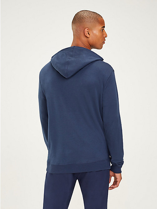 TOMMY SPORT Zip-Thru Hoody - SPORT NAVY - TOMMY SPORT Men - detail image 1