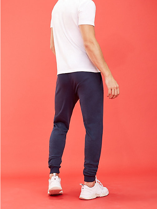 TOMMY SPORT Tapered Logo Joggers - SPORT NAVY - TOMMY SPORT Men - detail image 1