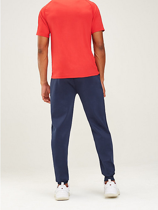 TOMMY SPORT Logo Tapered Joggers - SPORT NAVY - TOMMY SPORT Men - detail image 1