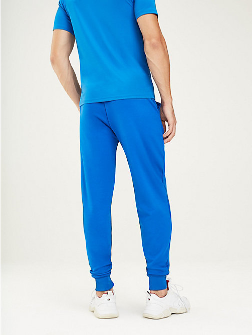 TOMMY SPORT Logo Tapered Joggers - PRINCESS BLUE - TOMMY SPORT Men - detail image 1