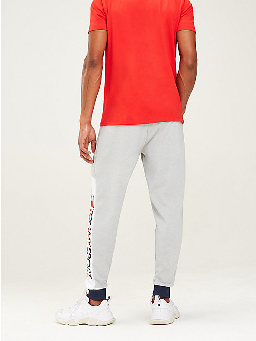 TOMMY SPORT Jogginghose mit Tommy-Streifen am Taillenbund - GREY HEATHER - TOMMY SPORT Herren - main image 1