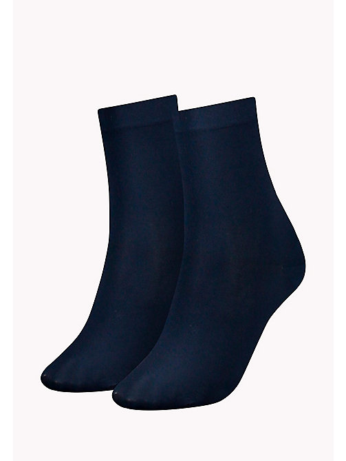 TOMMY HILFIGER 2 Pack Soft Socks - MIDNIGHT BLUE - TOMMY HILFIGER Socks & Hosiery - main image