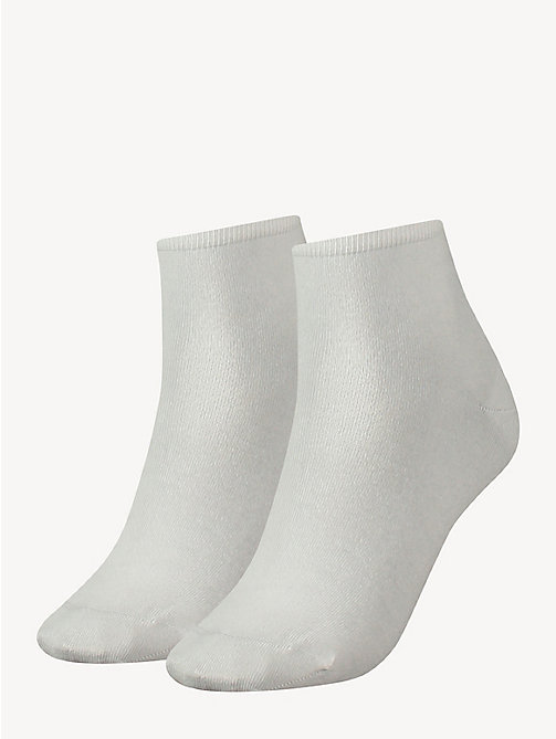 TOMMY HILFIGER 2 Pack Short Socks - WHITE - TOMMY HILFIGER Socks & Hosiery - main image