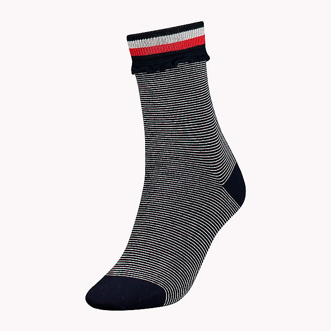 TOMMY HILFIGER 1-Pack Lace Ruffle Socks - WHITE - TOMMY HILFIGER Clothing - main image