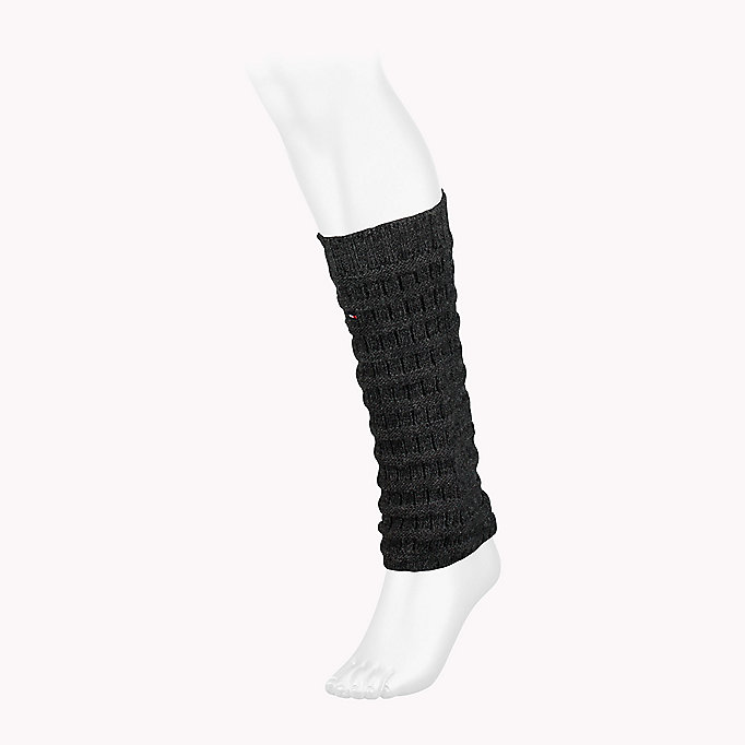 TOMMY HILFIGER TH WOMEN RIBBLE LEGWARMER 1P - MIDDLE GREY MELANGE - TOMMY HILFIGER Donne - immagine principale