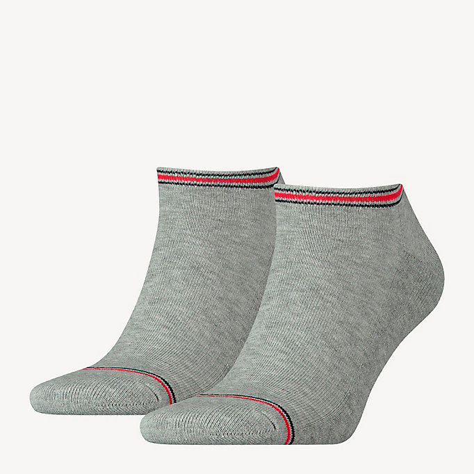 TOMMY HILFIGER 2 Pack Sneaker Socks - BLACK - TOMMY HILFIGER Clothing - main image