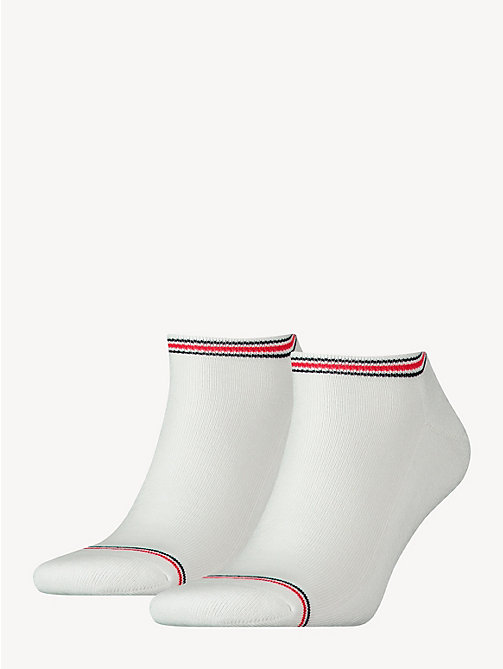 TOMMY HILFIGER 2 Pack Sneaker Socks - WHITE - TOMMY HILFIGER Socks - main image