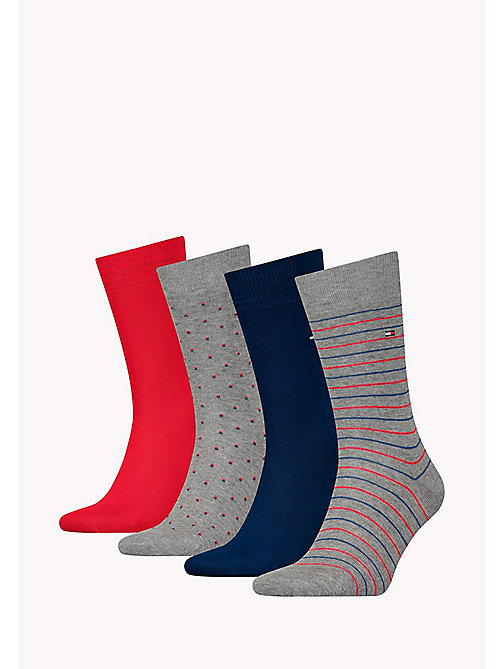 TOMMY HILFIGER TH MEN SS18  GIFTBOX 4P - TOMMY ORIGINAL -  Socks - detail image 1