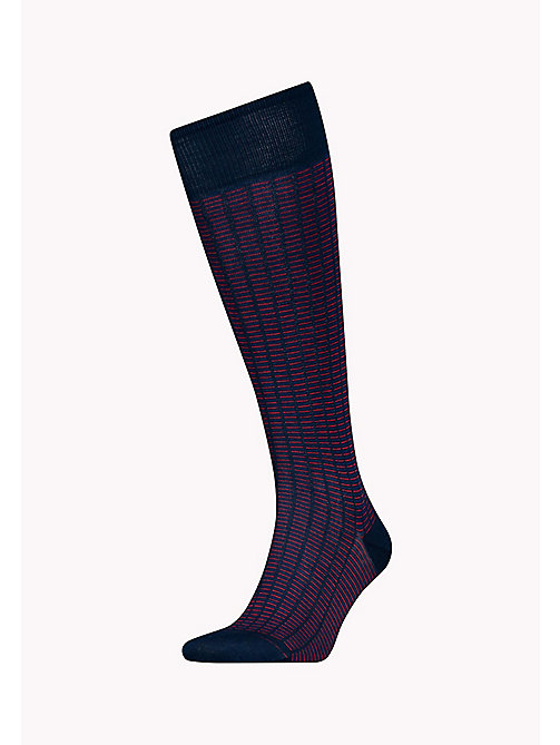 TOMMY HILFIGER 1-Pack Colour-Blocked Knee High Socks - TOMMY ORIGINAL - TOMMY HILFIGER Socks - main image