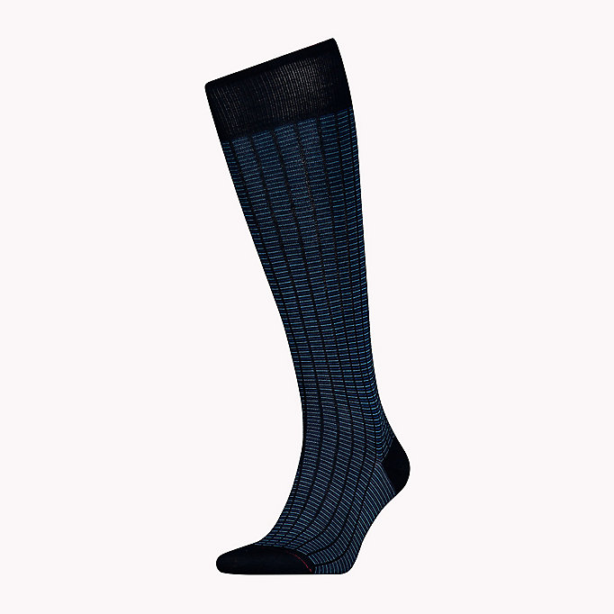 TOMMY HILFIGER 1-Pack Colour-Blocked Knee High Socks - TOMMY ORIGINAL - TOMMY HILFIGER Men - main image