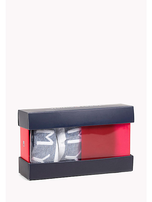 TOMMY HILFIGER 4-Pack Trainer Sock Gift Box - WHITE - TOMMY HILFIGER Socks - main image