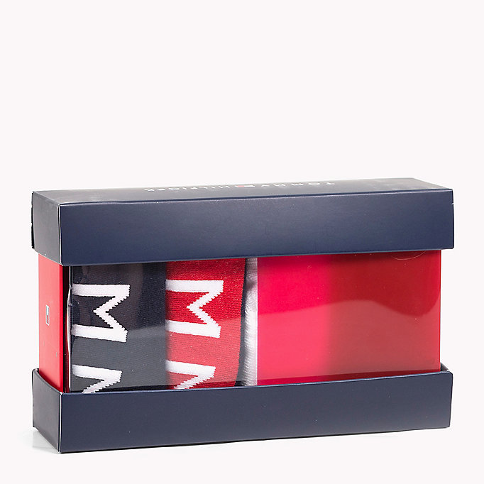 TOMMY HILFIGER 4-Pack Trainer Sock Gift Box - WHITE - TOMMY HILFIGER Kids - main image