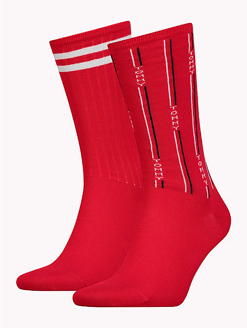 TOMMY HILFIGER TH DENIM THE ACE SOCK 2P - TOMMY RED - TOMMY HILFIGER Calzini - immagine principale