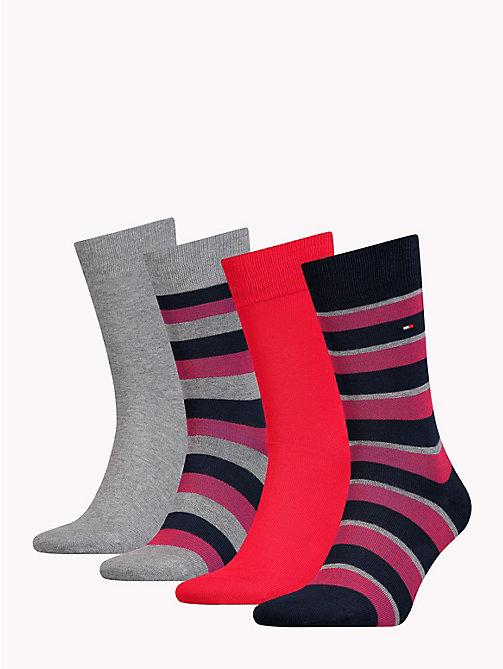 TOMMY HILFIGER 4-Pack Socks - TOMMY ORIGINAL - TOMMY HILFIGER Stocking Stuffers - detail image 1