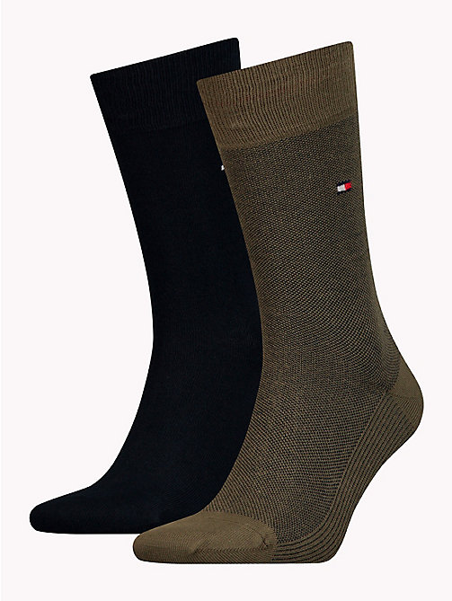 TOMMY HILFIGER 2-Pack Socks - DARK OLIVE - TOMMY HILFIGER Socks - main image
