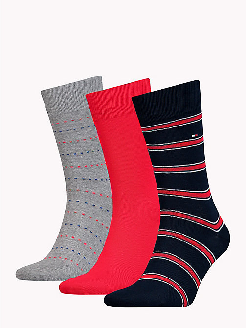TOMMY HILFIGER 3-Pack Socks - TOMMY ORIGINAL - TOMMY HILFIGER Stocking Stuffers - detail image 1