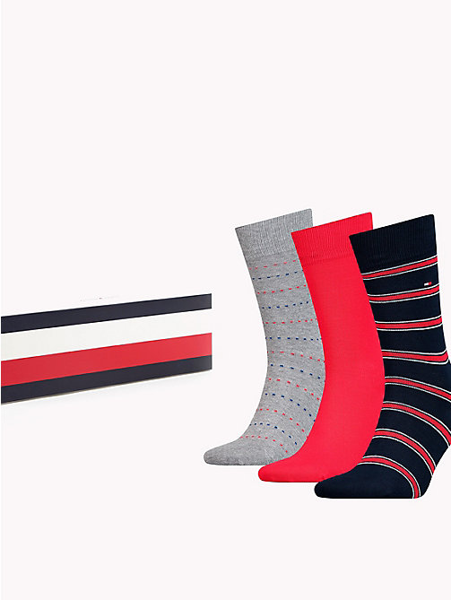 TOMMY HILFIGER 3-Pack Socks - TOMMY ORIGINAL - TOMMY HILFIGER Stocking Stuffers - main image