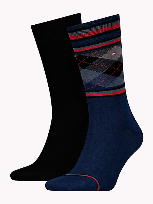TOMMY HILFIGER 2-Pack Socks - DARK NAVY - TOMMY HILFIGER Stocking Stuffers - main image