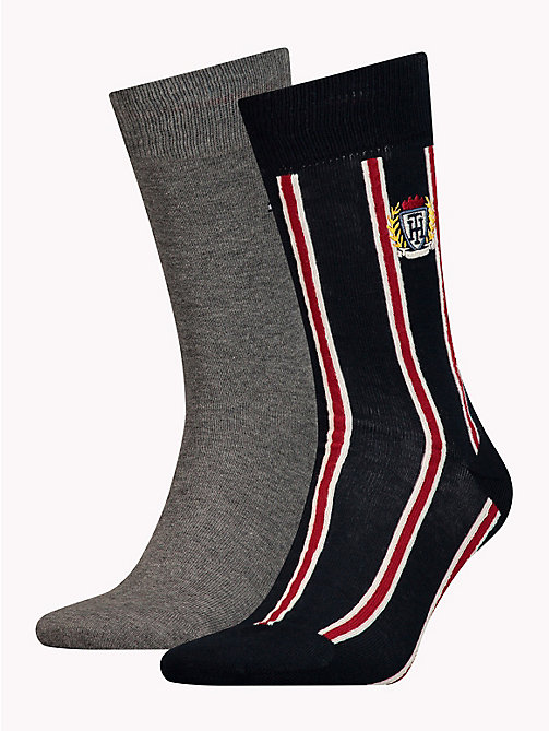 TOMMY HILFIGER 2-Pack Crest Socks - TOMMY ORIGINAL - TOMMY HILFIGER Stocking Stuffers - main image