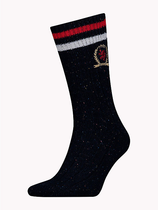 TOMMY JEANS Crest Socks - DARK NAVY - TOMMY JEANS TOMMY JEANS Capsule - main image
