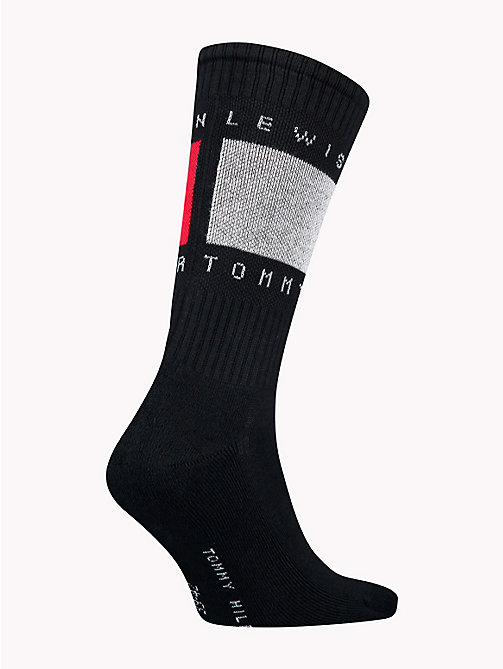 TOMMY HILFIGER Lewis Hamilton Flag Socks - BLACK - TOMMY HILFIGER TOMMY NOW MEN - detail image 1