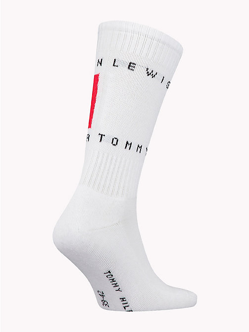 TOMMY HILFIGER Lewis Hamilton Flag Socks - WHITE - TOMMY HILFIGER TOMMY NOW MEN - detail image 1