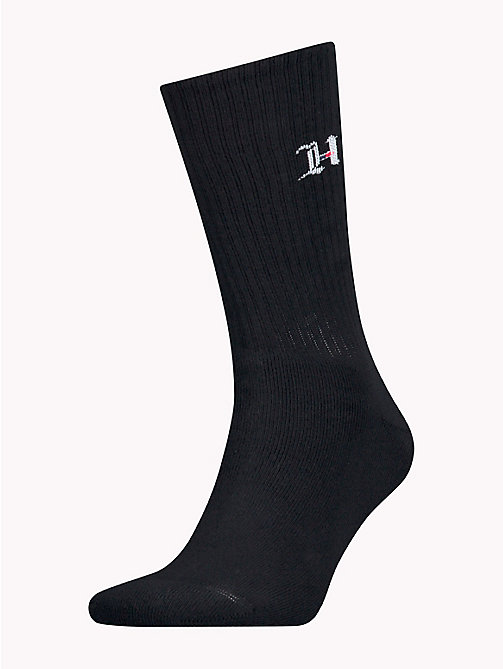 TOMMY HILFIGER Lewis Hamilton Monogram Socks - DARK NAVY - TOMMY HILFIGER TOMMY NOW MEN - main image