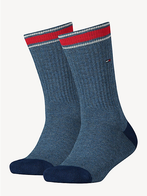 TOMMY HILFIGER 2 Pack Sports Socks - JEANS - TOMMY HILFIGER Underwear & Socks - main image