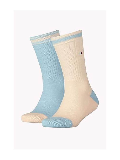 TOMMY HILFIGER 2 Pack Sports Socks - BABY BLUE - TOMMY HILFIGER Accessories - main image