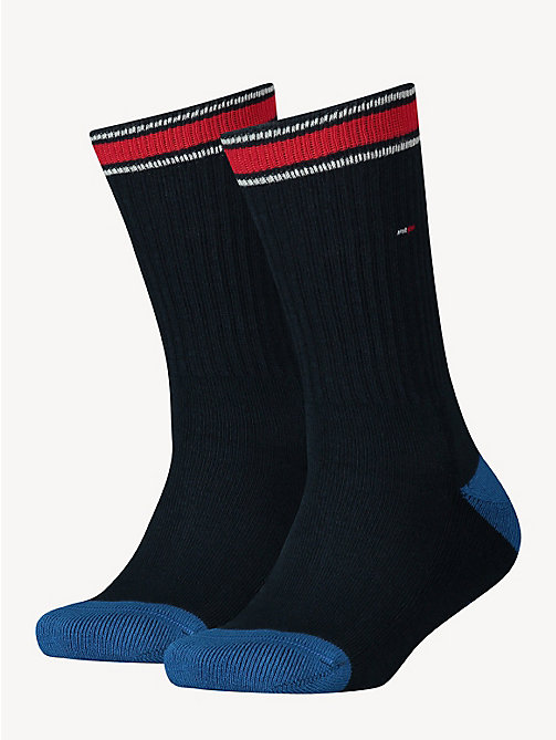 TOMMY HILFIGER 2 Pack Sports Socks - MIDNIGHT BLUE - TOMMY HILFIGER Underwear - main image