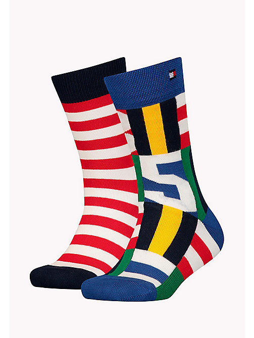 TOMMY HILFIGER 2-Pack Stripe Flag Socks - TOMMY ORIGINAL - TOMMY HILFIGER Underwear & Sleepwear - main image