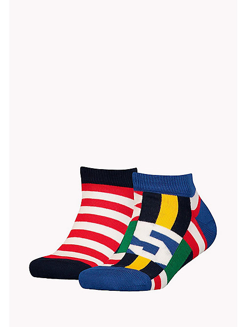 TOMMY HILFIGER 2-Pack Flag Socks - TOMMY ORIGINAL - TOMMY HILFIGER Underwear & Sleepwear - main image