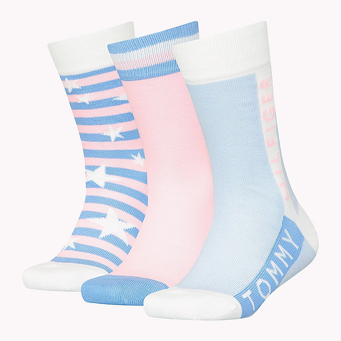 TOMMY HILFIGER 3-Pack Star Print Sock Gift Box - TOMMY ORIGINAL - TOMMY HILFIGER Kids - detail image 1