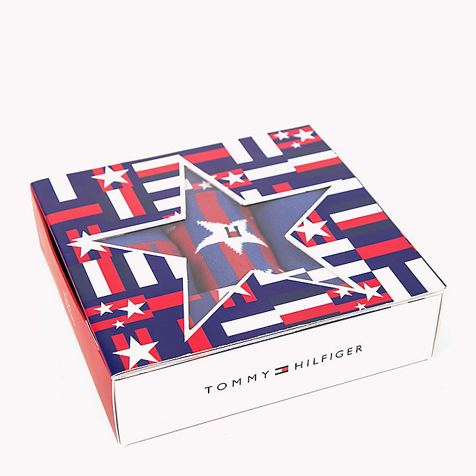 TOMMY HILFIGER 3-Pack Star Print Sock Gift Box - JEANS - TOMMY HILFIGER Kids - main image