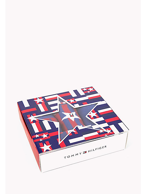 TOMMY HILFIGER 3-Pack Star Print Sock Gift Box - TOMMY ORIGINAL - TOMMY HILFIGER Gifts for Kids - main image